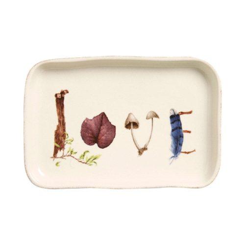 "Juliska Forest Walk Love Gift Tray 7.5"""