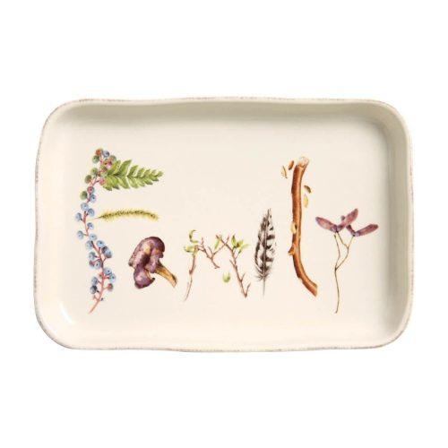 "Juliska Forest Walk Family Gift Tray 7.5"""
