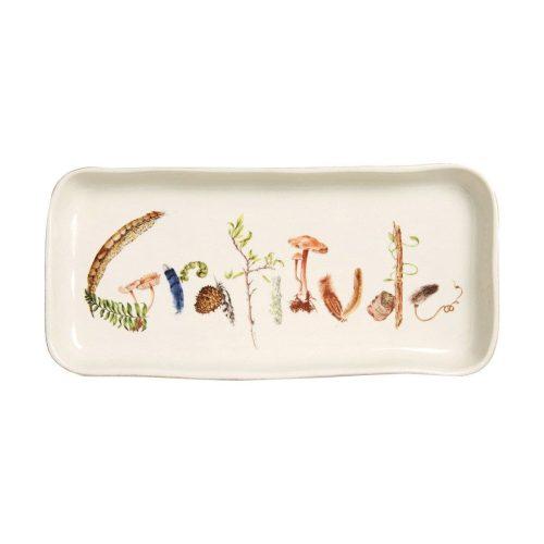 """Juliska Forest Walk Gratitude Gift Tray 10.5"""""""