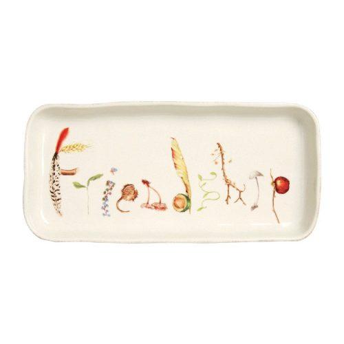 "Juliska Forest Walk Friendship Gift Tray 10.5"""