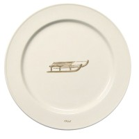 Chehoma Ascentielle Dinnerware Plate Sled Large-10.75""