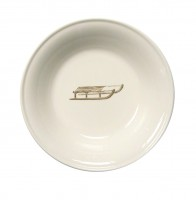"Chehoma Ascentielle Dinnerware Bowl Small Sled-6.63""w x 1.37""h"