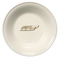 "Chehoma Ascentielle Dinnerware Bowl Large Sled-8""w x 1.68""h"