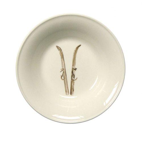 """Chehoma Ascentielle Dinnerware Bowl Small Ski-6.63""""w x 1.37""""h"""